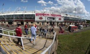 Northampton Town v Macclesfield Town - Sky Bet League Two